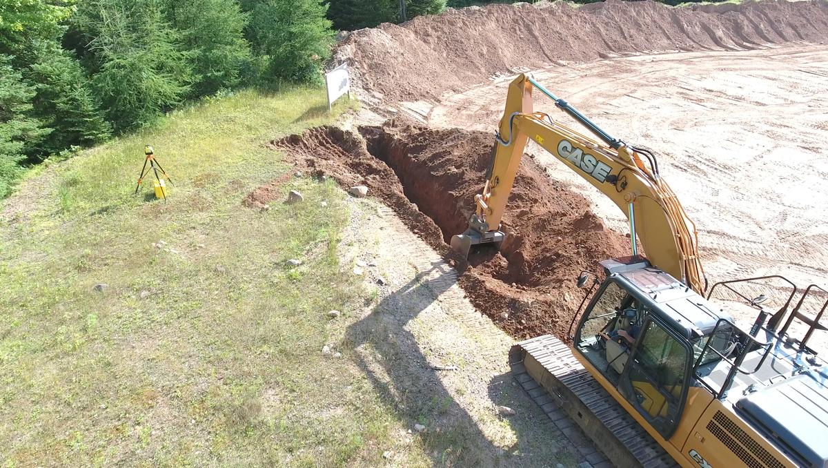 CASE 2D Excavator 1920